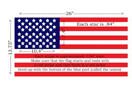 The Flag Of Usa 28 Wonderful Wooden American Flag Dimensions Egorlin Com
