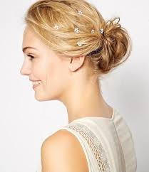 wedding hair clip trend alert mini floral hair pins