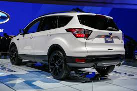 Ford Explorer Hybrid - 2017 ford escape first look review motor trend