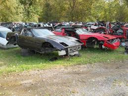 corvette junkyard california corvette salvage yard for sale in ohio auto appraisers