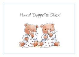 spr che zur geburt zwillingen echte karte baby zwillinge hallmark