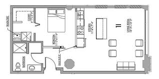 one bedroom house plans with loft floor plan 1l junior house lofts