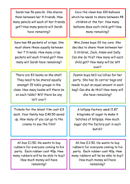 ks2 maths division with remainders word problems by selinaj