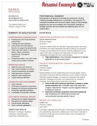 Resume Professional Summary Example Resume Template Professional Summary
