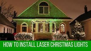 christmas laser do i install laser christmas lights
