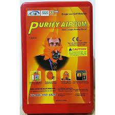 ce siege air purifyair 30m ce certified 30 minute smoke escape