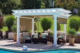 artisan vinyl pergola from dutchcrafters amish furniture