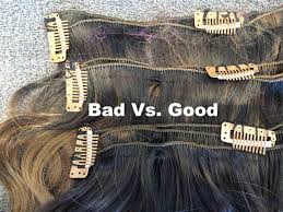 hair clip ins bad clip ins vs clip ins hair clip in extensions