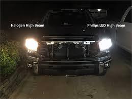 Tundra Led Lights 2016 Toyota Tundra Philips H4 Led Headlight Review 12953bwx2