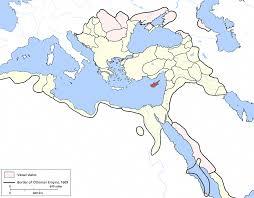 Ottoman Empire Borders Ottoman Cyprus