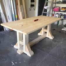 Kreg Jig Table Top Diy Pottery Barn Breakfast Table Frills U0026 Drills