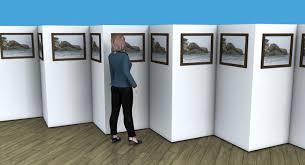 display art art display stands temporary art walls display boards