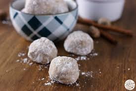 spiced eggnog snowball cookies a kitchen addiction