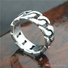 cool rings design images Mens boys 316l stainless steel cool silver bracelet style newest jpg