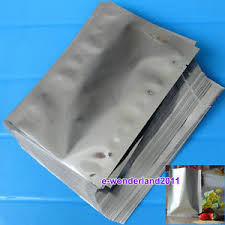 where to buy mylar bags locally 100pcs silver aluminum foil mylar bag vacuum bag sealer food
