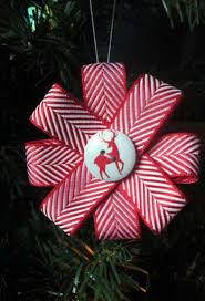 christmas ribbon best 25 christmas ribbon crafts ideas on christmas