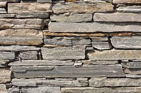 stone brick gray stone brick wall photograph by brandon bourdages
