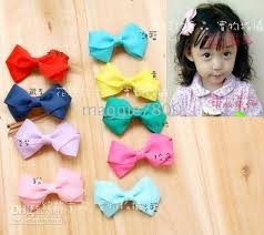 girl hair bows 2 inch baby girl hairbows attached clip 100 pieces new hair bow