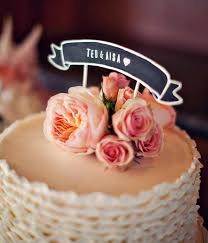 5 incredible wedding cake topper designs to inspire