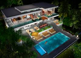 home design 3d videos video animations of two story modern glass home design next