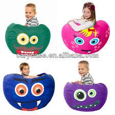 owl design children bean bag chair junior cozy beanbag seat