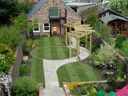 garden oak flooring green garden small garden backyard ideas