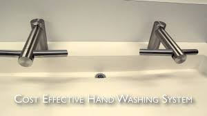 slab edge featuring dyson airblade tap faucet u0026 hand dryer youtube