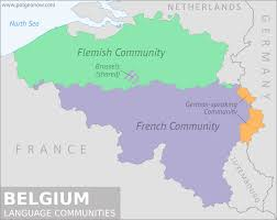 belgium language map what is wallonia belgium s federal system political
