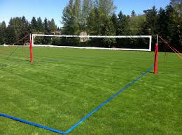 backyard volleyball net home outdoor decoration