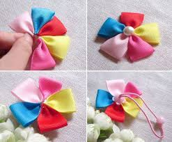 how to make baby hair bows best 25 ribbon hair ties ideas on tying ribbon bows