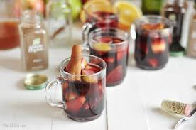 thanksgiving sangria the chic site