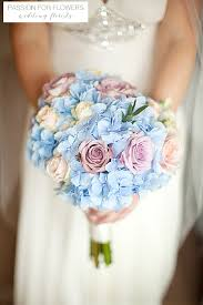 Blue Wedding Bouquets Blue Wedding Flowers U2013 Passion For Flowers