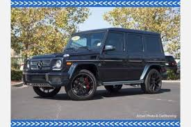 used mercedes g class suv for sale used 2017 mercedes g class suv pricing for sale edmunds