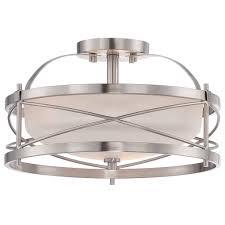 close to ceiling lights white flushmount light fixture flush