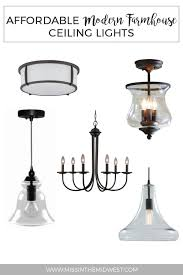 Lowes Ceiling Lights by Affordable Modern Farmhouse Ceiling Lights From Lowe U0027s U2022 Miss In