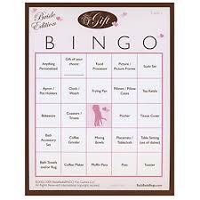 bridal shower gift bingo gift bingo bridal shower 50 ct bigdotofhappiness