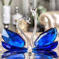 wedding gift ornaments swan ornaments home accessories wedding gift ideas wedding