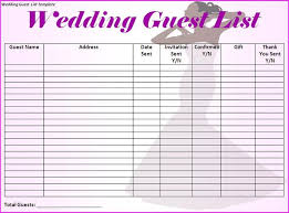 wedding invitation exle wedding invitation list template yourweek b5112aeca25e