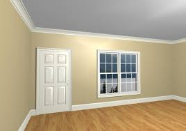 ceiling white crown molding color question interior decorating