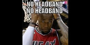 Lebron Headband Meme - lebron s headband becomes viral sensation