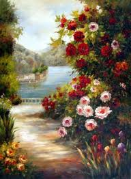 spring painting ideas 42 easy landscape painting ideas for beginners