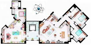 Famous House Floor Plans Living In Our Favorite Tv Series Apartments U2013 Friday Magazine