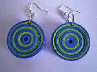 handmade paper earrings handmade paper earring manufacturers suppliers exporters in india