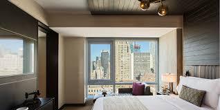 Skyline Wallpaper Bedroom One Bedroom Suiteking Bed Skyline View Balcony Renaissance New