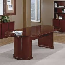 dark wood conference table 8ft racetrack conference table dark cherry wood