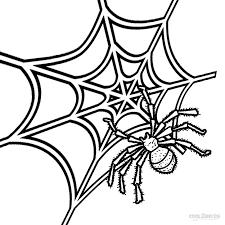Web Page Color Scheme Funycoloring Spider Web Coloring Page