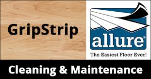Resilient Plank Flooring Allure Gripstrip Flooring Cleaning And Maintenance Guide