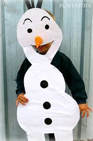 Olaf Costume Coolest Cardboard Halloween Costumes For Kids Playtivities