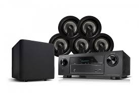 jamo ic 406 in ceiling speakers with denon avr 520bt receiver 5 1
