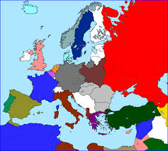 Ww2 Europe Map Empire Ww2